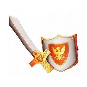 Almofada Espada e Escudo