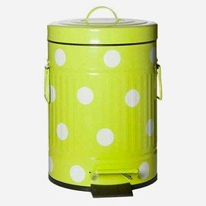 Lixeira Cute Dots Verde
