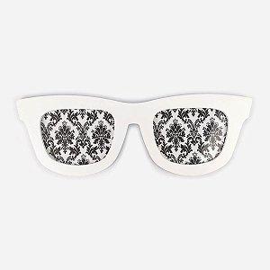 Porta Retrato Óculos Branco