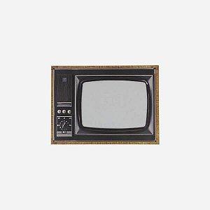 Porta Retrato Magnético TV Retrô