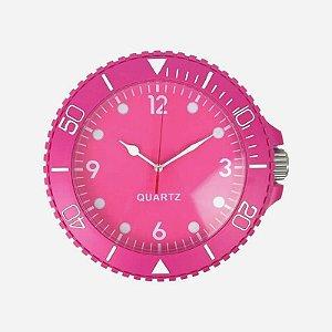 Relógio de Parede Swatch Rosa