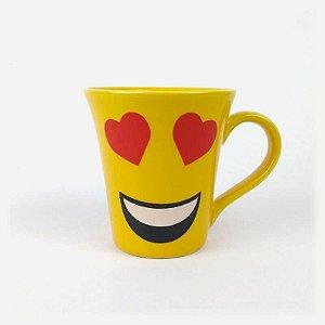 Caneca Emoji Amor
