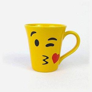 Caneca Emoji Piscadinha