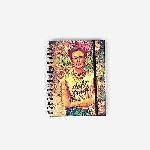 Caderno Frida Daft Punk