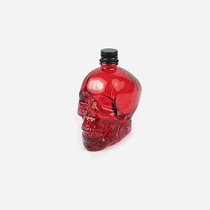 Mini Garrafa Skull Vermelha