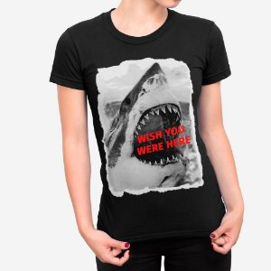 Camiseta Feminina Wish You Were Here