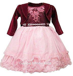 Galipe Moda Kids Vestido Para Princesas