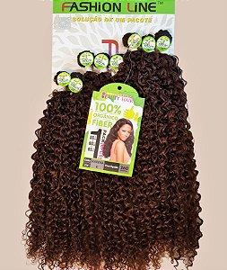 Cabelo Orgânico Afro Cacheado - Rainha