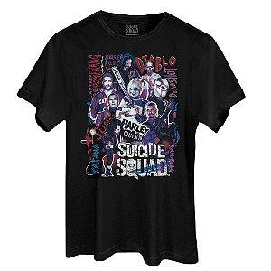 Camiseta Esquadrão Suicida