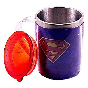 Caneca com tampa - Superman
