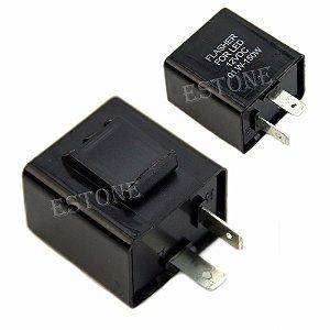 Rele eletrônico para pisca - seta LED - universal 2 pinos