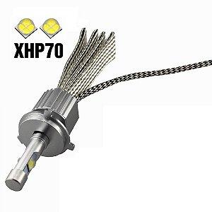 Pronta entrega - Lâmpada Super Led 6000k 6.600 lumens - Cree XHP-70 - H4