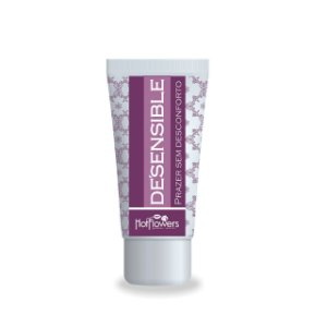 Desensible Gel Lubrificante Hot Flowers
