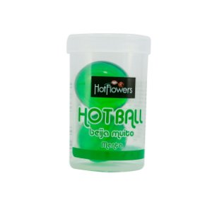Hot Ball Dupla Beija Muito - Menta Hot Flowers