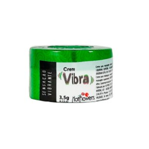 Creme Excitante Vibra Unissex 3,5g Hot Flowers