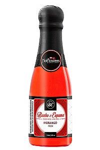 Sabonete Liquido Banho & Espuma - Morango Hot Flowers