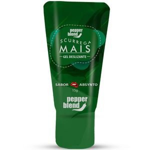 Gel Comestível Scurrega Mais  Absinto 15g Pepper Blend
