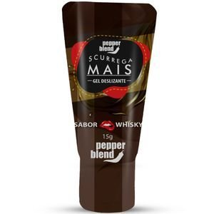Gel Comestível Scurrega Mais Whisky 15g Pepper Blend
