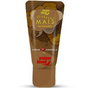 Gel Comestível Scurrega Mais Amarula 15g  Pepper Blend