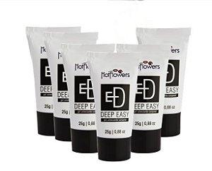Kit Deep Easy Dessensibilizante Bisnaga Preta 25g Hot FLowers Embalagem c 10 unid.