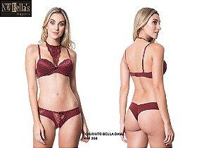 Conjunto Lingerie Bella Dama NW Bella's