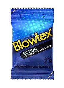 Preservativo Blowtex Texturizado Action 3 unidades