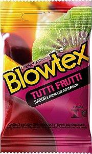 Preservativo Blowtex Tutti-frutti 3 unidades.