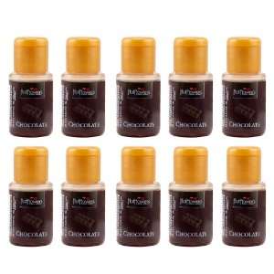 Gel Aromatizante Chocolate 15ml - Kit c/10 Und
