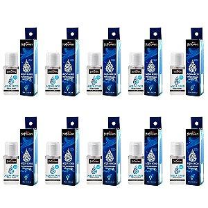 Aqua Loob Loção Lubrificante á Prova d' Agua 12 ml Hot Flowers - Kit c/10 Und