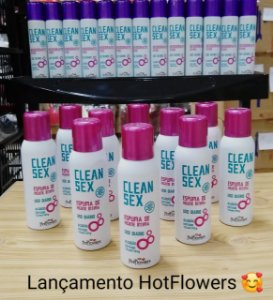 CLEAN SEX - ESPUMA DE HIGIENE INTIMA - KIT