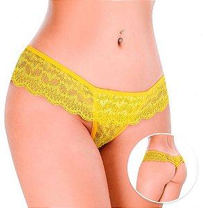 Tanga Te Quero Laço - Amarela - Hot Flowers