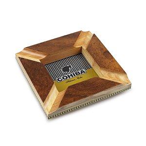 Cinzeiro para 4 Charutos de Madeira Quadrado - Cohiba