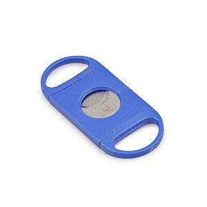 Cortador de Charutos Nerone (Lâmina Dupla) - Azul
