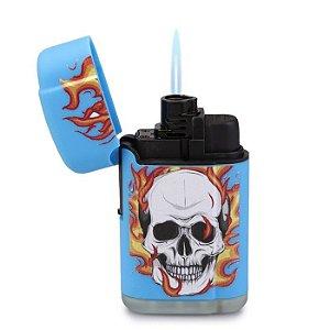 Isqueiro Maçarico Firestar - Azul (Sortido)