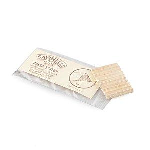 Filtro para Cachimbo Savinelli de Balsa 6mm - Pacote com 20