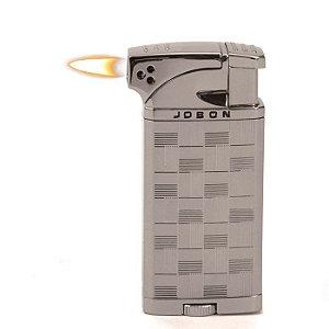 Isqueiro Jobon - Chumbo Mod. 1 (Maçarico e Chama Normal)