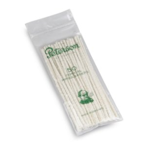 Limpador de Cachimbo de Algodão Peterson - Pacote com 50