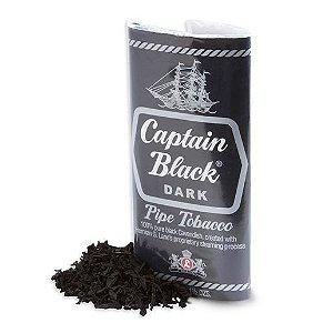 Fumo para Cachimbo Captain Black Dark - Pct (42,5g)