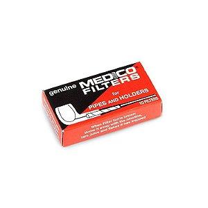 Filtro de 6mm para Cachimbo Medico - Caixa com 10