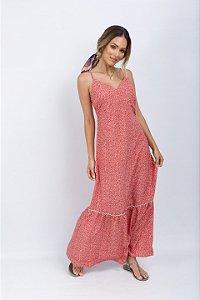 Vestido Longo Estampado Jéssica