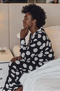 Pijama Longo Amélia Poá