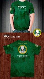 Camiseta exército DMN em dryfit OZC2018