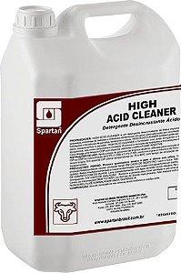 High Acid Cleaner: Detergente Desincrustante Ácido