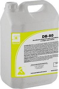 DB 80-Desinfetante Hospitalar para Superfícies Fixas e Artigos não Críticos