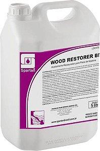 Wood Restorer Br: Acabamento Restaurador Alto Brilho Para Piso de Madeira