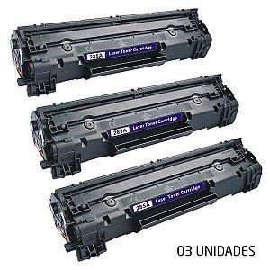 KIT - 3 TONER COMP. HP CB435/436/285 (1005/1120/1102)2K-IMPORTADO