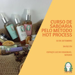 Curso de Saboaria - Hot process - Niterói