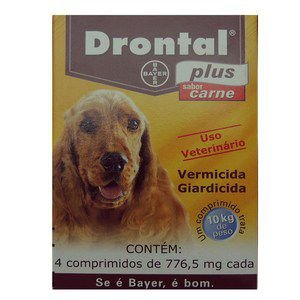 DRONTAL PLUS CARNE 4 COMP