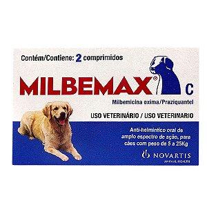 MILBEMAX C DE 5KG A 25KG