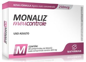 MONALIZ MEU CONTROLE (30CAPS)